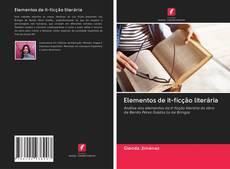 Copertina di Elementos de it-ficção literária