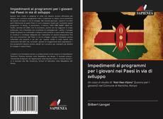 Capa do livro de Impedimenti ai programmi per i giovani nei Paesi in via di sviluppo
