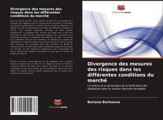 Обложка Divergence des mesures des risques dans les différentes conditions du marché
