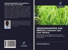 Portada del libro de VERWASBAARHEID VAN NERICA's (nieuwe rijst voor Afrika)