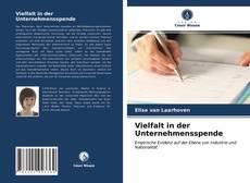 Bookcover of Vielfalt in der Unternehmensspende