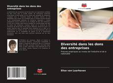 Portada del libro de Diversité dans les dons des entreprises