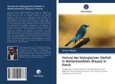 Bookcover of Verlust der biologischen Vielfalt in Welterbestätten (Kayas) in Kenia