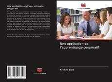 Bookcover of Une application de l'apprentissage coopératif