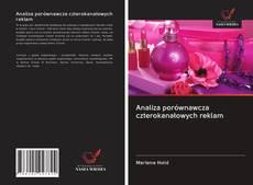 Capa do livro de Analiza porównawcza czterokanałowych reklam