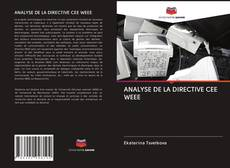 Bookcover of ANALYSE DE LA DIRECTIVE CEE WEEE