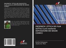 Bookcover of PROPRIETA' OTTICA DEI FILM SOTTILI CuxS mediante DEPOSIZIONE DEI BAGNI CHIMICI