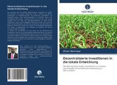 Bookcover of Dezentralisierte Investitionen in die lokale Entwicklung