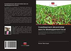 Buchcover von Investissement décentralisé dans le développement local
