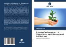 Capa do livro de Intensive Technologien zur Vermehrung von Pflanzmaterial in Usbekistan