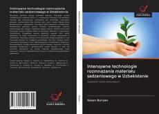 Buchcover von Intensywne technologie rozmnażania materiału sadzeniowego w Uzbekistanie
