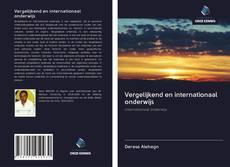 Borítókép a  Vergelijkend en internationaal onderwijs - hoz