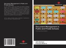 Bookcover of Document Management in Public and Private Schools