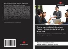 Bookcover of The organizational climate at Centro Universitario Municipal Amancio