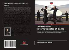 Affectations internationales et genre kitap kapağı