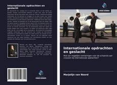 Buchcover von Internationale opdrachten en geslacht