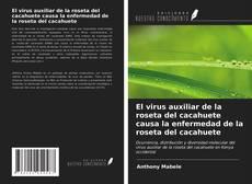 Bookcover of El virus auxiliar de la roseta del cacahuete causa la enfermedad de la roseta del cacahuete