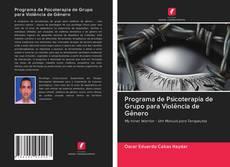 Обложка Programa de Psicoterapia de Grupo para Violência de Gênero
