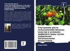 Bookcover of Улучшение роста сельскохозяйственных культур в условиях дефицита воды путем управления питательными веществами