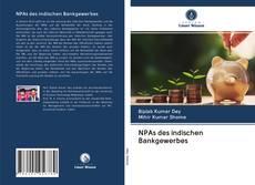 Bookcover of NPAs des indischen Bankgewerbes