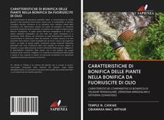 Copertina di CARATTERISTICHE DI BONIFICA DELLE PIANTE NELLA BONIFICA DA FUORIUSCITE DI OLIO