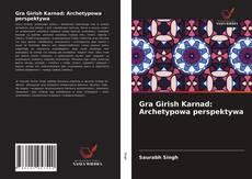 Capa do livro de Gra Girish Karnad: Archetypowa perspektywa