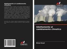Capa do livro de Adattamento al cambiamento climatico