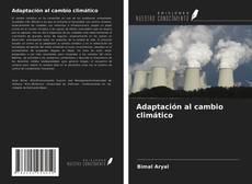 Capa do livro de Adaptación al cambio climático
