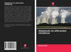 Обложка Adaptação às alterações climáticas