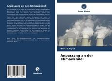 Anpassung an den Klimawandel kitap kapağı