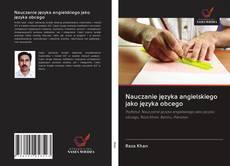 Capa do livro de Nauczanie języka angielskiego jako języka obcego