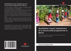 Couverture de Qualitative impact assessment of a microcredit programme in Benin