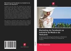 Capa do livro de Marketing do Facebook na Indústria da Moda e do Vestuário