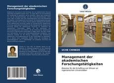 Management der akademischen Forschungstätigkeiten的封面
