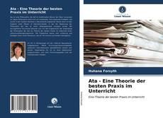 Couverture de Ata - Eine Theorie der besten Praxis im Unterricht