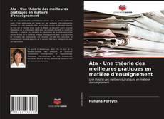 Portada del libro de Ata - Une théorie des meilleures pratiques en matière d'enseignement