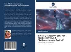 """Bookcover of Ernest Gellners Umgang mit Nationalismus und """"Bedingungen der Freiheit"""""""