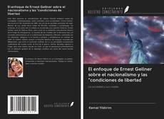 """Portada del libro de El enfoque de Ernest Gellner sobre el nacionalismo y las """"condiciones de libertad"""