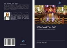 Capa do livro de HET ALTAAR VAN GOD