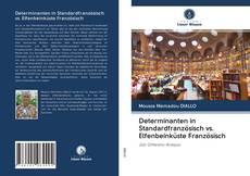 Determinanten in Standardfranzösisch vs. Elfenbeinküste Französisch kitap kapağı