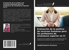 Portada del libro de Evaluación de la política de recursos humanos para los profesores de enseñanza superior en CI