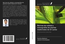 Bookcover of Normas de calidad y monografías de plantas medicinales de Sri Lanka