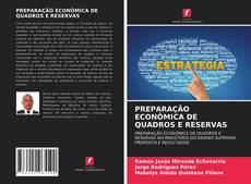 Обложка PREPARAÇÃO ECONÔMICA DE QUADROS E RESERVAS