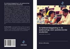 Borítókép a  Scriptieverslaggeving in de wetenschap voor postdoctorale studenten - hoz