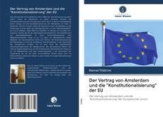 """Buchcover von Der Vertrag von Amsterdam und die """"Konstitutionalisierung"""" der EU"""