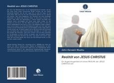 Buchcover von Realität von JESUS CHRISTUS