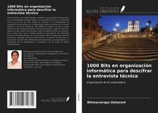 Bookcover of 1000 Bits en organización informática para descifrar la entrevista técnica