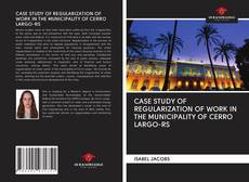 Couverture de CASE STUDY OF REGULARIZATION OF WORK IN THE MUNICIPALITY OF CERRO LARGO-RS