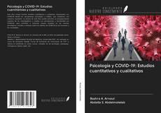 Bookcover of Psicología y COVID-19: Estudios cuantitativos y cualitativos
