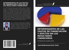 Bookcover of DETERMINANTES DE LAS PAUTAS DE FINANCIACIÓN Y EFECTOS EN LOS RESULTADOS FINANCIEROS